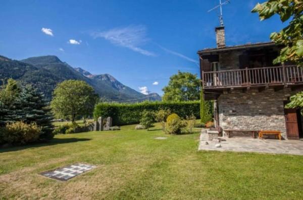 Villa in vendita a La Salle, Frazione Echarlod, Con giardino, 300 mq - Foto 22
