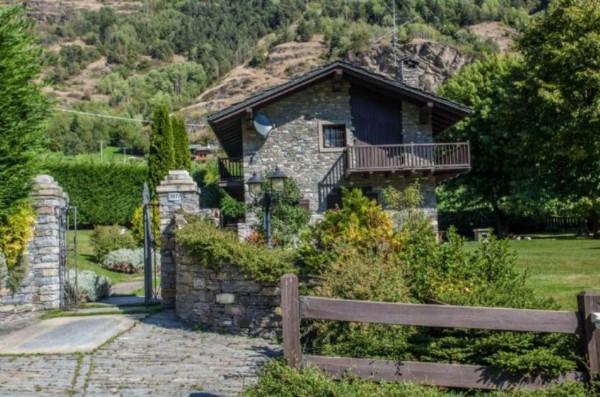 Villa in vendita a La Salle, Frazione Echarlod, Con giardino, 300 mq - Foto 28