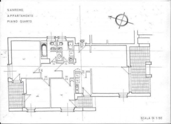 Appartamento in vendita a Sanremo, Con giardino, 130 mq - Foto 2
