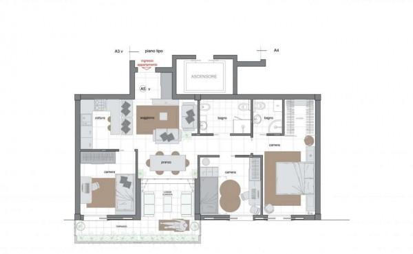Appartamento in vendita a Sestri Levante, Villa Ragone, Con giardino, 85 mq - Foto 12