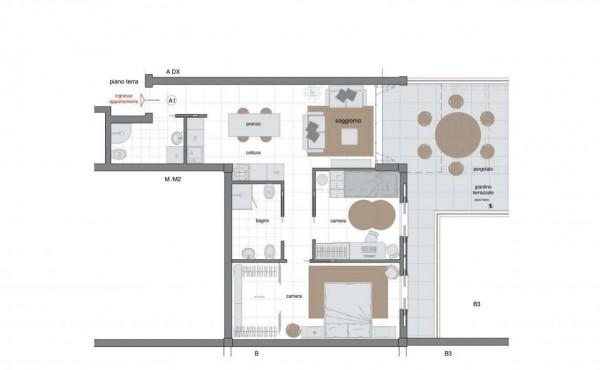 Appartamento in vendita a Sestri Levante, Villa Ragone, Con giardino, 85 mq - Foto 17