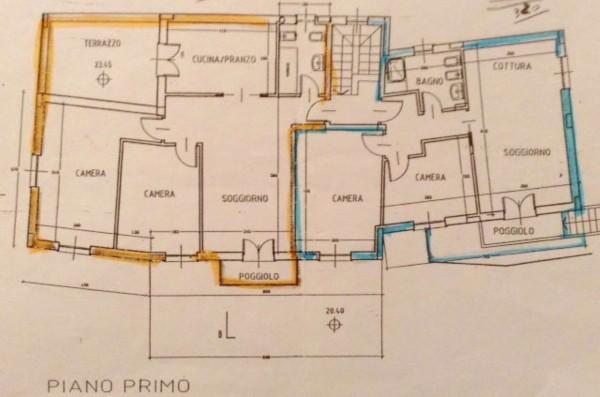 Appartamento in vendita a Sestri Levante, Villa Ragone, Con giardino, 85 mq - Foto 18