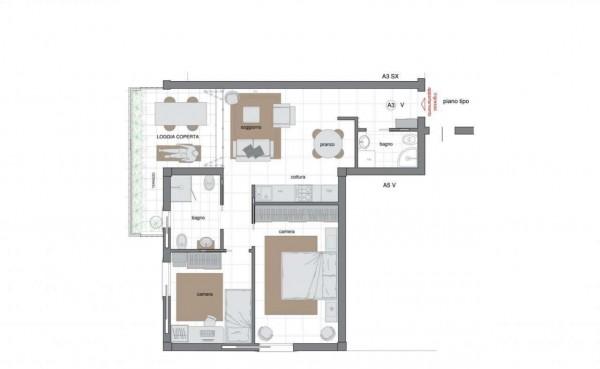 Appartamento in vendita a Sestri Levante, Villa Ragone, Con giardino, 85 mq - Foto 10