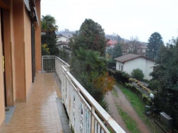 Appartamento in vendita a Gavirate, Oltrona Al Lago, Con giardino, 80 mq - Foto 12