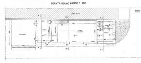 Rustico/Casale in vendita a Orbassano, Centro, Arredato, con giardino, 1000 mq - Foto 3