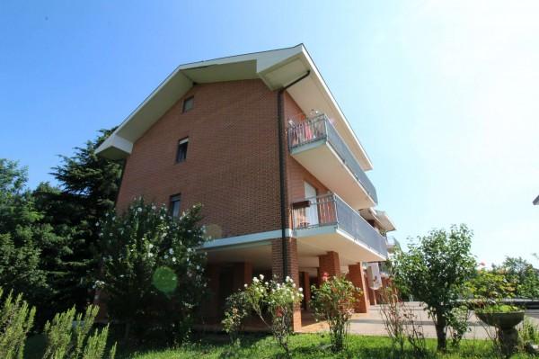 Appartamento in vendita a San Gillio, Centro, Arredato, con giardino, 73 mq - Foto 3