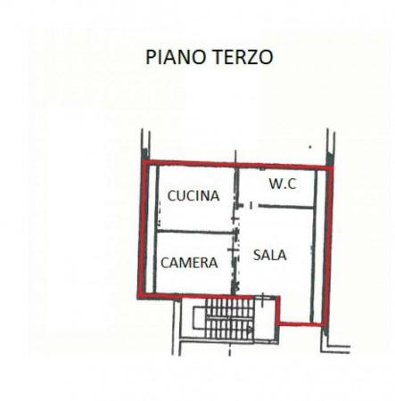 Appartamento in vendita a San Gillio, Centro, Arredato, con giardino, 73 mq - Foto 5