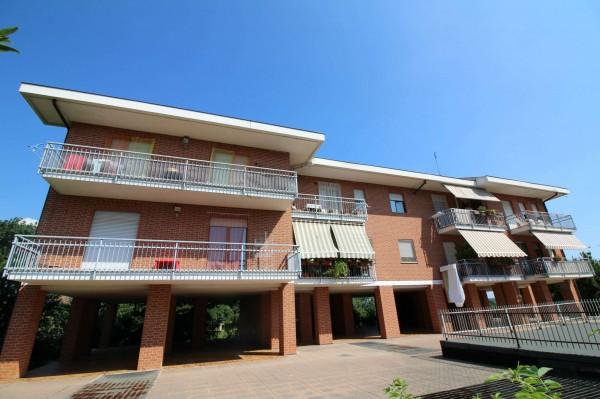 Appartamento in vendita a San Gillio, Centro, Arredato, con giardino, 73 mq - Foto 2