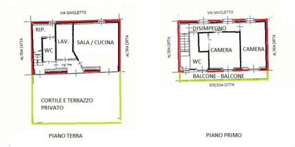 Appartamento in vendita a Val della Torre, Brione, Con giardino, 115 mq - Foto 4