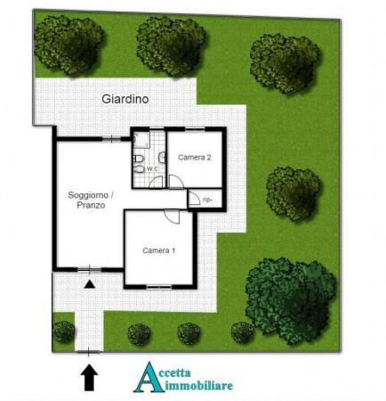 Appartamento in vendita a Taranto, Residenziale, Con giardino, 70 mq - Foto 2