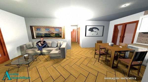 Appartamento in vendita a Taranto, Residenziale, Con giardino, 70 mq - Foto 10