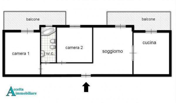 Appartamento in vendita a Leporano, Residenziale, 90 mq - Foto 2