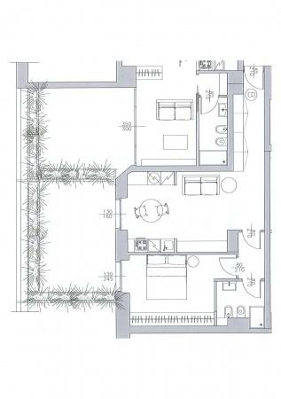 Appartamento in vendita a Milano, Via Vincenzo Monti, 68 mq - Foto 2