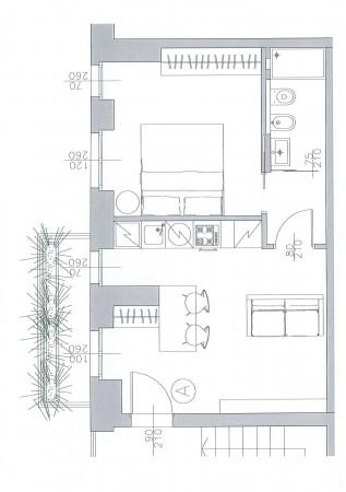 Appartamento in vendita a Milano, Vincenzo Monti, 46 mq - Foto 3