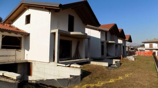 Villetta a schiera in vendita a Brebbia, 239 mq - Foto 8