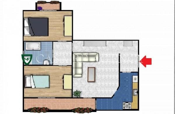 Appartamento in vendita a Varese, Ippodromo, Con giardino, 90 mq - Foto 2