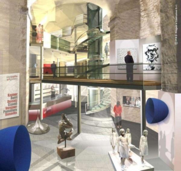 Locale Commerciale  in vendita a Genova, Centro Storico, 330 mq - Foto 1