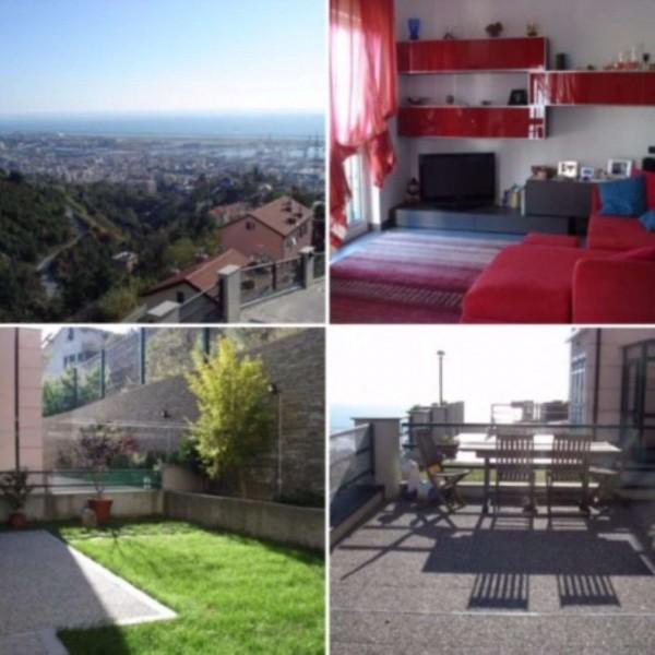 Villa in vendita a Genova, Sestri Ponente, Con giardino, 195 mq
