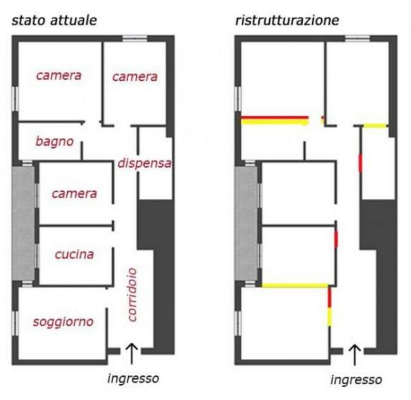 Appartamento in vendita a Genova, Sestri Ponente, 100 mq - Foto 14