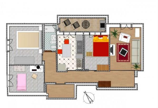Appartamento in vendita a Genova, Sestri Ponente, 100 mq - Foto 2