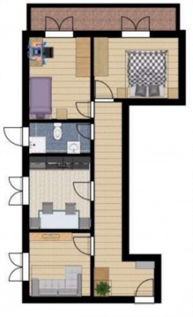 Appartamento in vendita a Genova, Sestri Ponente, 88 mq