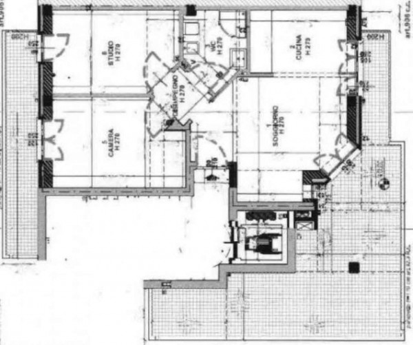 Appartamento in vendita a Milano, Ponte Lambro, 70 mq - Foto 2