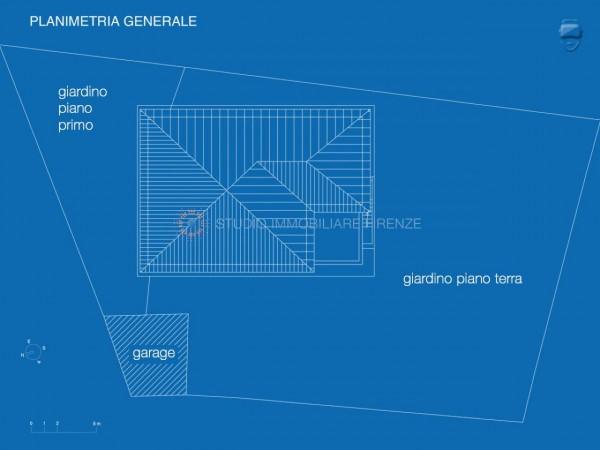 Villa in vendita a Firenze, Con giardino, 350 mq - Foto 10