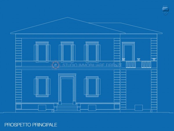 Villa in vendita a Firenze, Con giardino, 350 mq - Foto 9