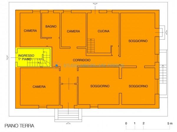 Villa in vendita a Firenze, Con giardino, 350 mq - Foto 7