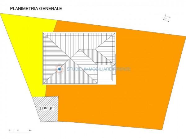 Villa in vendita a Firenze, Con giardino, 350 mq - Foto 4