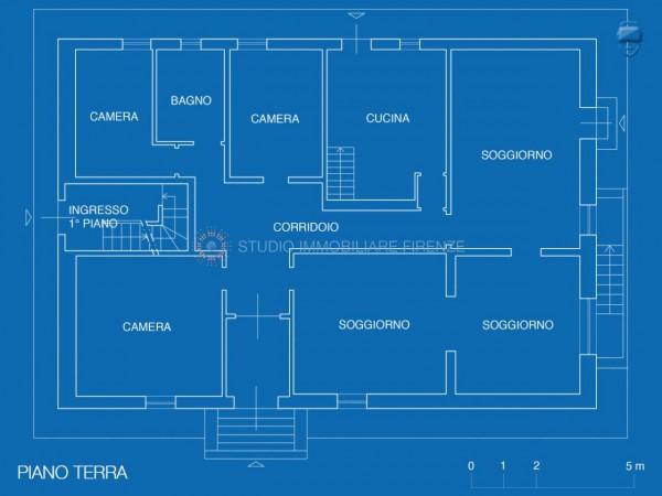 Villa in vendita a Firenze, Con giardino, 350 mq - Foto 28