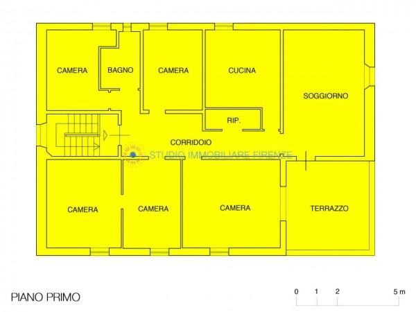 Villa in vendita a Firenze, Con giardino, 350 mq - Foto 6