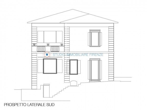 Villa in vendita a Firenze, Con giardino, 350 mq - Foto 2