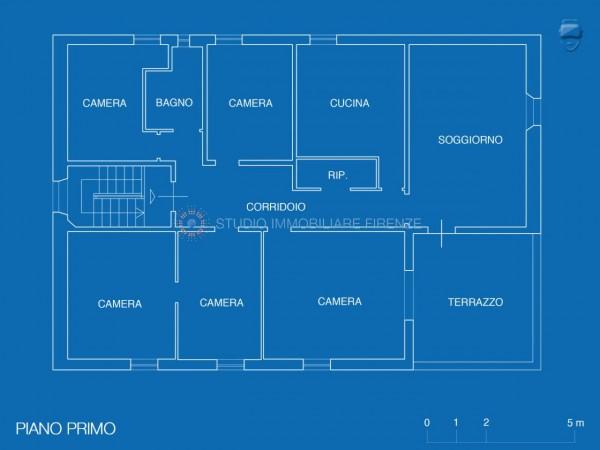 Villa in vendita a Firenze, Con giardino, 350 mq - Foto 27