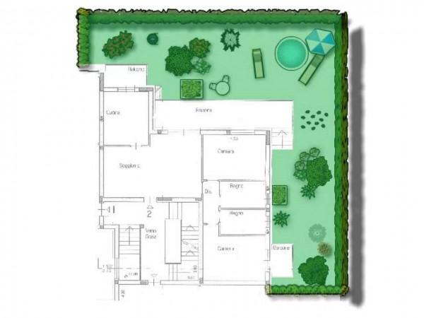 Appartamento in vendita a Cairate, Boladello, 104 mq - Foto 2