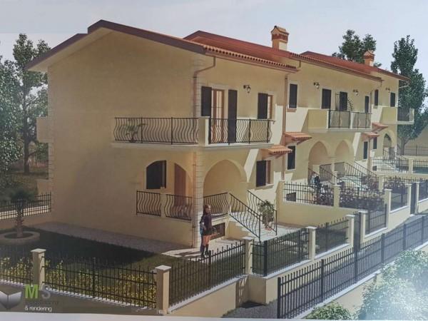 Villetta a schiera in vendita a Roma, Belvedere Montello, Con giardino, 180 mq