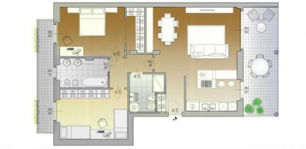 Appartamento in vendita a Desio, Stazione - Parco, 120 mq - Foto 3