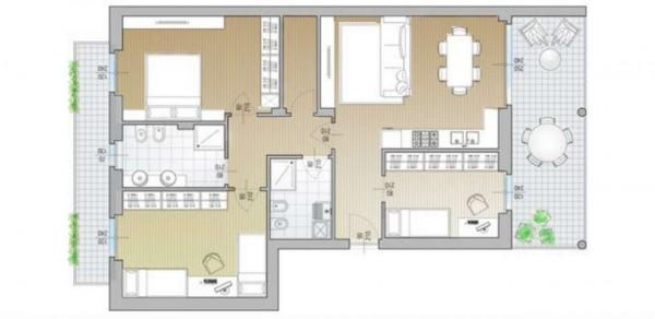 Appartamento in vendita a Desio, Stazione - Parco, 120 mq - Foto 2