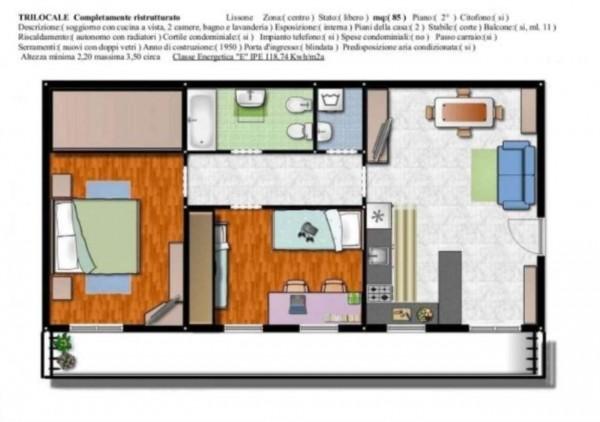 Appartamento in vendita a Lissone, 85 mq - Foto 3