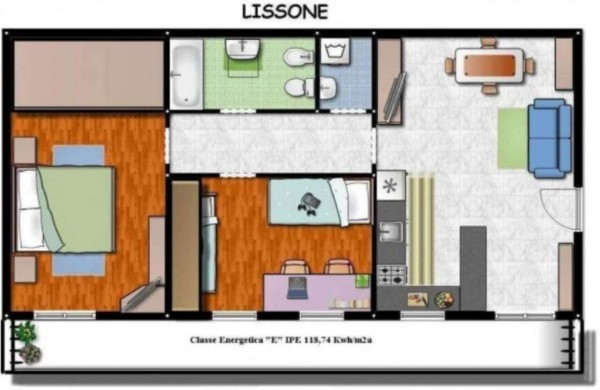 Appartamento in vendita a Lissone, 85 mq - Foto 4