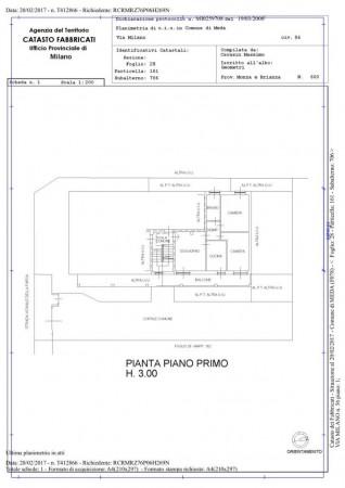 Appartamento in vendita a Meda, Confine Barlassina / Seveso, 90 mq - Foto 17