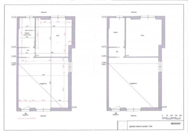 Appartamento in vendita a Muggiò, Centro, 75 mq - Foto 3