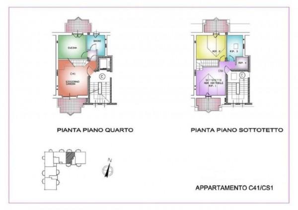 Appartamento in vendita a Muggiò, Centro, Con giardino, 130 mq - Foto 2