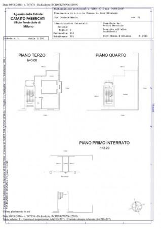 Appartamento in vendita a Nova Milanese, Zona San Giuseppe / Poste, 75 mq - Foto 2