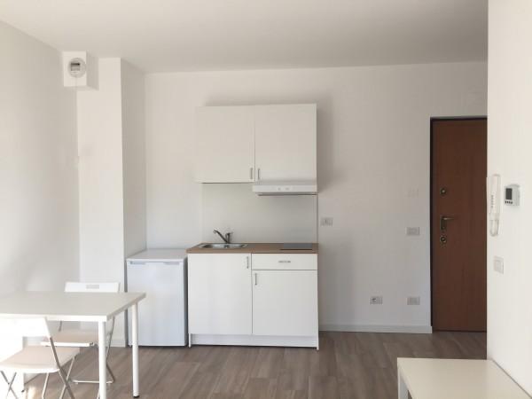 Monolocale in vendita a Agrate Brianza, Via Vismara, Con giardino, 32 mq