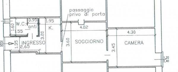 Appartamento in affitto a Venaria Reale, Centro Storico, 40 mq - Foto 2