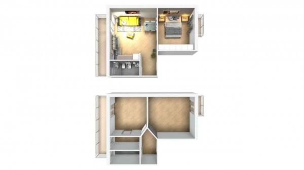 Appartamento in vendita a Venaria Reale, Centrale, 45 mq - Foto 3
