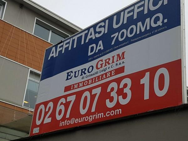 Ufficio in affitto a Milano, 700 mq - Foto 3
