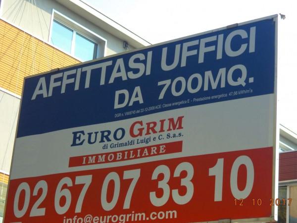 Ufficio in affitto a Milano, 1010 mq - Foto 4