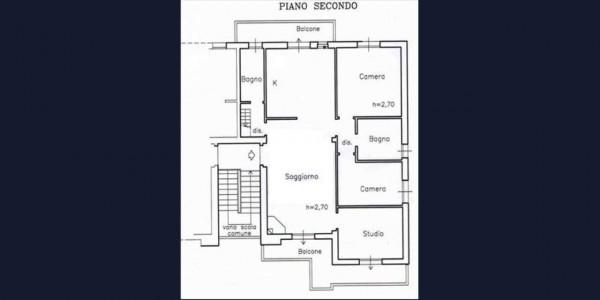 Appartamento in vendita a Castelnuovo Berardenga, 130 mq - Foto 12
